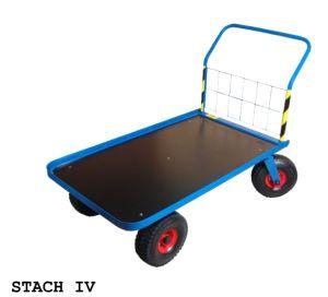 Wózki platformowe - na kołach pneumatycznych